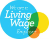 Logo to show we are a Living Wage Employer