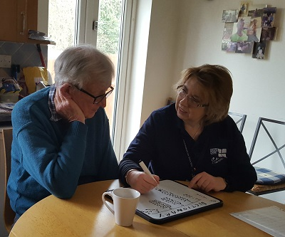 Crossroads Care Support Worker at work