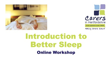 Introduction to Better Sleep Workshop image