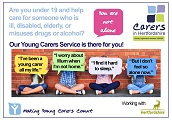 young carers service postcard front web