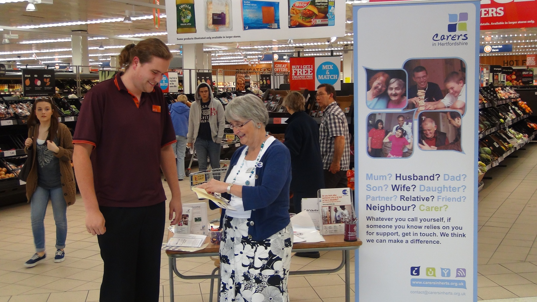 Sainsburys Carers Week 2012