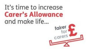 We're backing Carers UK in their campaign for a better financial deal for unpaid carers