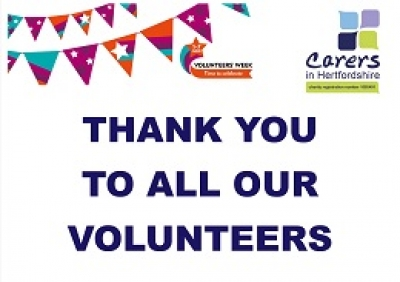 Volunteers' Week thank you message